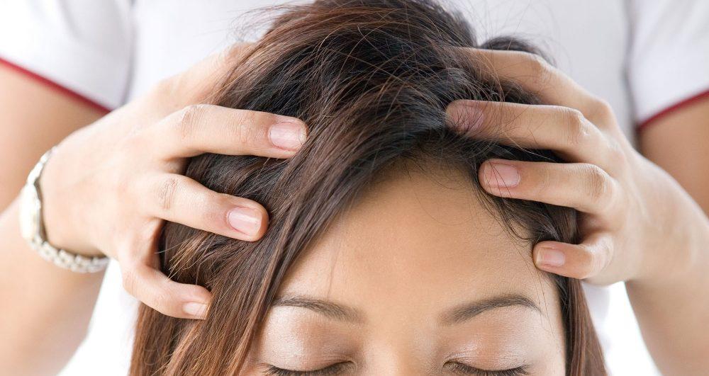 Masajul indian al scalpului - AromaBach